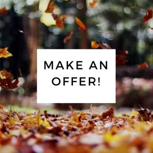 We love to get offers!❤️